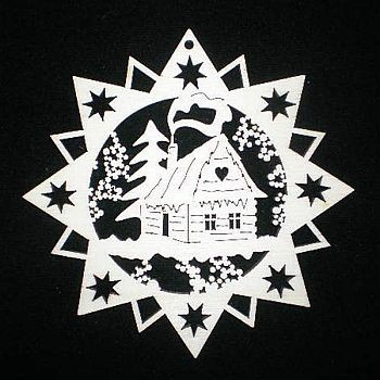 Stern mit Haus