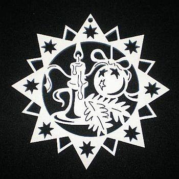 Stern mit Kerze