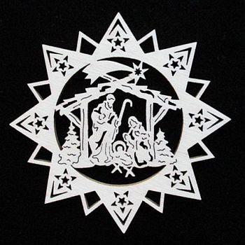 Stern mit Krippe