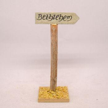 WEGWEISER BETHLEMEM 11cm